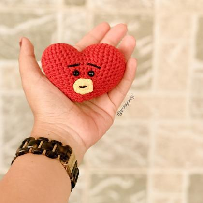 PDF Crochet pattern - Mini Tata BTS..