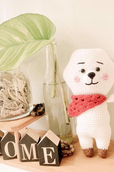 RJ BT21 Crochet pattern, RJ BTS Bangtan Army Korean band customized doll - Amigurumi doll pattern (English)